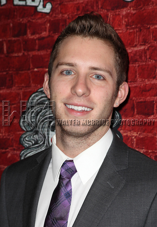 Corey Mach.attending the Opening Night Performance After Party for the Broadway Revival of 'Godspell' at Planet Hollywood in New York City.