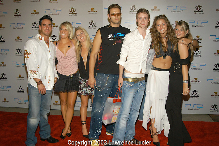 Cast of MTV Real World - Paris
