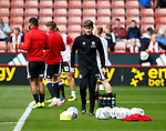 Nick Travis fitness coach for Sheffield Utd during the Championship match at Bramall Lane, Sheffield. Picture date 26th August 2017. Picture credit should read: Simon Bellis/Sportimage