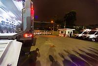 SÃO PAULO, SP, 13.02.2019 - SÃO PAULO-TALLERES- Torcida do São Paulo protesta após partida contra o Talleres em jogo válido pela 2ª rodada de volta da Copa Libertadores da América 2019 no Estádio do Morumbi em São Paulo, nesta quarta-feira, 13. (Foto: Anderson Lira/Brazil Photo Press/Folhapress)