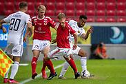 KALMAR, SWEDEN - JULY 01: Noah Sonko Sundberg of Ostersunds FK during the Allsvenskan match between Kalmar FF and Ostersunds FK at Guldfageln Arena on July 1, 2020 in Kalmar, Sweden. (Photo by David Lidström Hultén/LPNA)
