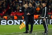 Tottenham Hotspur manager Mauricio Pochettino during Tottenham Hotspur vs Juventus, UEFA Champions League Football at Wembley Stadium on 7th March 2018