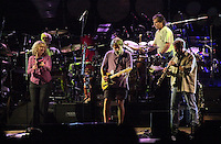 The Dead in concert with guests Randall Bramlett and Joan Osborne at the Hartford Meadows 21 June 2003