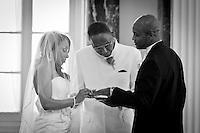 Wedding Photos of Sabrinah Dickens and Eddie Baety