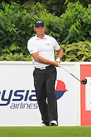 Gary Woodland (USA) on the 5th tee during Round 3 of the CIMB Classic in the Kuala Lumpur Golf & Country Club on Saturday 1st November 2014.<br /> Picture:  Thos Caffrey / www.golffile.ie