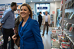"Maria Dolores de Cospedal in the presentation of the book ""Cada dia tiene su afan"" by former minister Jorge Fernandez Diaz with Mariano Rajoy<br /> October 10, 2019. <br /> (ALTERPHOTOS/David Jar)"