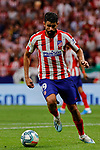 Diego Costa of Atletico de Madrid in action during La Liga match between Atletico de Madrid and SD Eibar at Wanda Metropolitano Stadium in Madrid, Spain.September 01, 2019. (ALTERPHOTOS/A. Perez Meca)