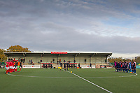 Two minutes silence is observed during Harlow Town vs Dulwich Hamlet, Buildbase FA Trophy Football at The Harlow Arena on 11th November 2017