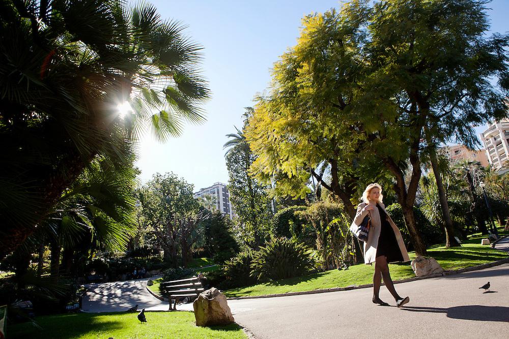 Jardins de la Petite Afrique, Monte Carlo, Monaco, 21 March 2013