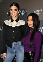 BEVERLY HILLS, CA - OCTOBER 11: Kendall Jenner, Kourtney Kardashian attending the What Goes Around Comes Around 1 Year Anniversary Event at What Goes Around Comes Around boutique in Beverly Hills, California on October 11, 2017. <br /> CAP/MPI/DE<br /> &copy;DE/MPI/Capital Pictures