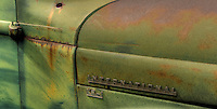 Green International Truck detail
