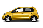 Car Driver side profile view of a 2017 Volkswagen UP Move-up 5 Door Hatchback Side View