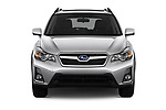 Car photography straight front view of a 2017 Subaru XV Premium 5 Door SUV