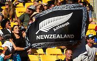 Fans on DAY 2 during the 2016 HSBC Wellington Sevens at Westpac Stadium, Wellington, New Zealand on Sunday, 31 January 2016. Photo: Joseph Johnson / lintottphoto.co.nz