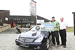 Jarlath and Dermot McMorrow with the BMW car which is a Hole in One Prize. ..Photo NEWSFILE/Jenny Matthews.(Photo credit should read Jenny Matthews/NEWSFILE)....This Picture has been sent you under the condtions enclosed by:.Newsfile Ltd..The Studio,.Millmount Abbey,.Drogheda,.Co Meath..Ireland..Tel: +353(0)41-9871240.Fax: +353(0)41-9871260.GSM: +353(0)86-2500958.email: pictures@newsfile.ie.www.newsfile.ie.FTP: 193.120.102.198.