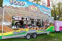 Food vendors during Day 4 of the Second International Cricket Test match, New Zealand V England, Hagley Oval, Christchurch, New Zealand, 2nd April 2018.Copyright photo: John Davidson / www.photosport.nz