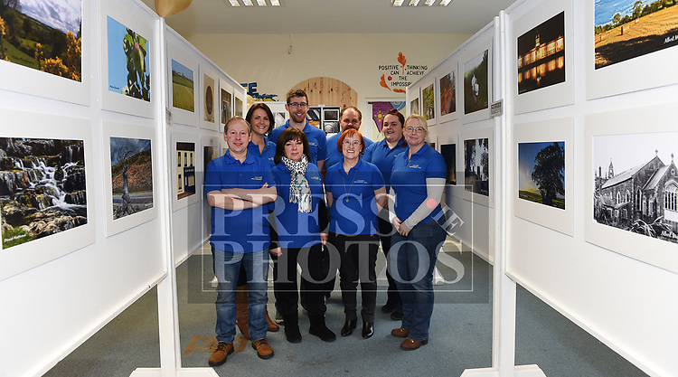 Members of Ardee Photography Club Padraig McCormack, Loretta Mooney, Maria Carroll, Susan Taaffe, Deborah Boylan, Margaret Ryan, David Matthews and Elizabeth Sheridan pictured at their first exhibition held in the DEE Hub. Photo:Colin Bell/pressphotos.ie