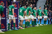 17th March 2018, Twickenham, London, England; NatWest Six Nations rugby, England versus Ireland; Jonathan Sexton of Ireland at the end of the Irish line