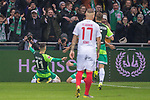 10.02.2019, Weser Stadion, Bremen, GER, 1.FBL, Werder Bremen vs FC Augsburg, <br /> <br /> DFL REGULATIONS PROHIBIT ANY USE OF PHOTOGRAPHS AS IMAGE SEQUENCES AND/OR QUASI-VIDEO.<br /> <br />  im Bild<br /> <br /> 1:0 Milot Rashica (Werder Bremen #11) <br /> Max Kruse (Werder Bremen #10)<br /> <br /> <br /> <br /> jubel <br /> Foto © nordphoto / Kokenge