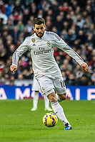 Real Madrid´s Nacho Fernandez during 2014-15 La Liga match between Real Madrid and Deportivo de la Coruna at Santiago Bernabeu stadium in Madrid, Spain. February 14, 2015. (ALTERPHOTOS/Luis Fernandez) /NORTEphoto.com
