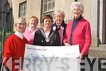tralee soroptimist club kindly donated 1030 euros from the proceeds of their bridge night in the brandon hotel at ozanom house day place tralee last saturday morning(l-r) noreen quilter, idelma moriarty, ann o driscoll (president sorsptimist club) eily harty and maire o farrell. missing from photo is honoury treasurer Aileen Kennelly.-   Copyright Kerry's Eye 2008