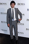 31.05.2012. Celebrities attend opening ceremony of the new BOSS Store Madrid Jorge Juan on the terrace of the Palacio de Cibeles. In the image Miguel Abellan (Alterphotos/Marta Gonzalez)