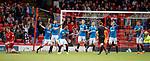 08.05.2018 Aberdeen v Rangers: Ref Steven McLean points to the spot