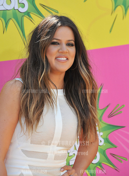 Khloe Kardashian Odom at Nickelodeon's 26th Annual Kids' Choice Awards at the Galen Centre, Los Angeles..March 23, 2013  Los Angeles, CA.Picture: Paul Smith / Featureflash