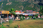 Tourist resort buildings, Olu Deniz, Fethiye, Turkey