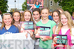 Cheering on Jessie at the Jessie Buckley homecoming in St Mary's Cathedral field Killarney on Friday was l-r: Laura Donnellan, Leanne Pierce, Keelan O'Sullivan, Norma Courtney, Catherine Coffey, Katie O'Leary and Catherine Coppinger all Killarney   Copyright Kerry's Eye 2008