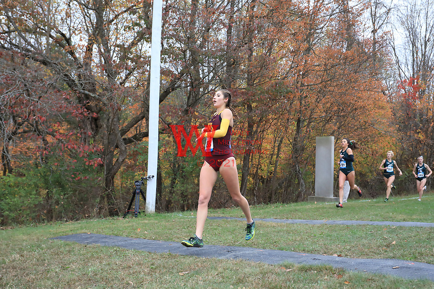 The University of Minnesota men's and women's cross country team compete at the 2017 Big Ten Championships in Bloomington, IN. October 29, 2017
