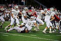 September 9, 2016: Game action from Duxbury vs Bridgewater-Raynham held at Bridgewater-Raynham High School in Bridgewater, Mass.