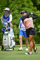 Moriya Jutanugarn (THA) watches her tee shot on 11 during round 1 of the 2018 KPMG Women's PGA Championship, Kemper Lakes Golf Club, at Kildeer, Illinois, USA. 6/28/2018.<br /> Picture: Golffile | Ken Murray<br /> <br /> All photo usage must carry mandatory copyright credit (&copy; Golffile | Ken Murray)
