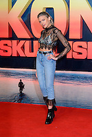 www.acepixs.com<br /> <br /> February 28 2017, London<br /> <br /> Becca Dudley arriving at the European premiere Of 'Kong: Skull Island' on February 28, 2017 in London<br /> <br /> By Line: Famous/ACE Pictures<br /> <br /> <br /> ACE Pictures Inc<br /> Tel: 6467670430<br /> Email: info@acepixs.com<br /> www.acepixs.com