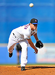 28 February 2011: New York Mets pitcher Jason Isringhausen on the mound against the Washington Nationals at Digital Domain Park in Port St. Lucie, Florida. The Nationals defeated the Mets 9-3 in Grapefruit League action. Mandatory Credit: Ed Wolfstein Photo
