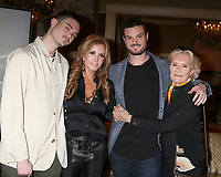 LOS ANGELES - FEB 2:  Landon Recht, Tracey Bregman, Austin Recht, Suzanne Lloyd at the Tracey Bregman 35th Anniversary on the Young and the Restless at CBS TV City on February 2, 2018 in Los Angeles, CA