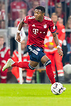 06.10.2018, Allianz Arena, Muenchen, GER, 1.FBL,  FC Bayern Muenchen vs. Borussia Moenchengladbach, DFL regulations prohibit any use of photographs as image sequences and/or quasi-video, im Bild David Alaba (FCB #27) <br /> <br />  Foto &copy; nordphoto / Straubmeier