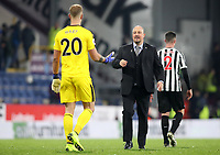 Burnley's Joe Hart and Newcastle United manager Rafa Benítez at the end of todays match<br /> <br /> Photographer Rachel Holborn/CameraSport<br /> <br /> The Premier League - Burnley v Newcastle United - Monday 26th November 2018 - Turf Moor - Burnley<br /> <br /> World Copyright © 2018 CameraSport. All rights reserved. 43 Linden Ave. Countesthorpe. Leicester. England. LE8 5PG - Tel: +44 (0) 116 277 4147 - admin@camerasport.com - www.camerasport.com