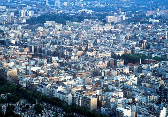 Aerial, Paris, France