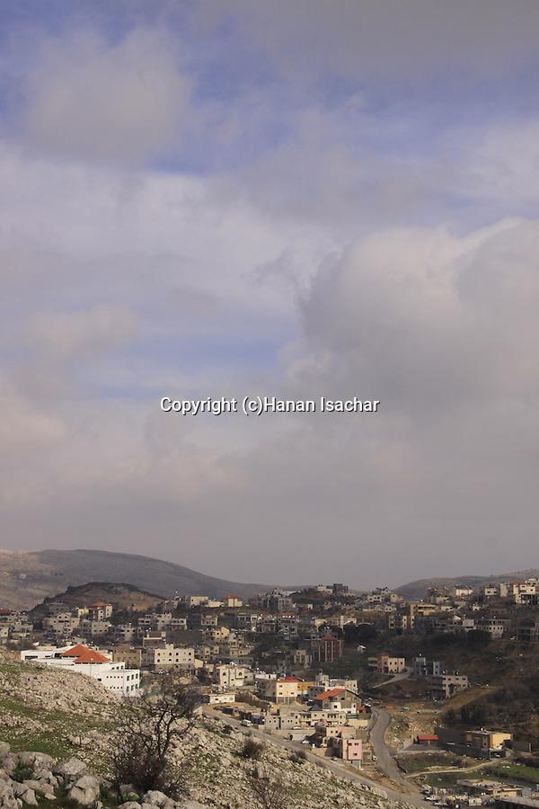 Golan Heights, Druze village Majdal Shams