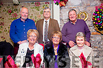 Celebrating the New Year at Cassidy's on Thursday were front l-r  Theresa Nolan,  Angela Fitzgerald and Kitty Enright Back l-r Peter Nolan, Ricky Fitzgerald, Joe Enright