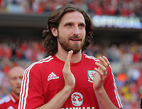 Pictured: Joe Allen at the Cardiff City Stadium Friday 08 July 2016<br />