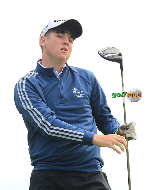 Eoin Lawless (Athenry) on the 2nd tee during the GOLFSTYLE Connacht Close Finals  at Loughrea Golf Club, Loughrea, Co Galway. 14/08/2017<br /> Picture: Golffile | Thos Caffrey<br /> <br /> All photo usage must carry mandatory copyright credit     (&copy; Golffile | Thos Caffrey)