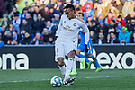 Eder Militao of Real Madrid during La Liga match between Getafe CF and Real Madrid at Coliseum Alfonso Perez in Getafe, Spain. January 04, 2020. (ALTERPHOTOS/A. Perez Meca)