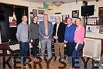 Fleadh By The Feale Launch held on Friday night in Matt McCoy's Bar Abbeyfeale from left:  Sponsor Gerard Ward (ProActive), Caitriona Galvin, Sponsor, Mayor Liam Galvin, David Ward (David Ward & Co Accountants) Cllr. Francis Foley & Helen Foley.