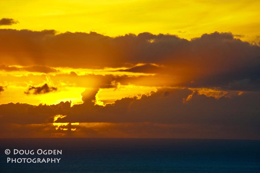 A wonderful sunset, Kauai, Hawaii