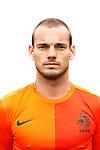 Nederland, Hoenderloo, 31 mei 2012.Persdag Nederlands Elftal.Wesley Sneijder van Nederland