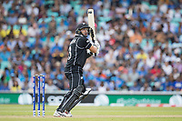 Ross Taylor (New Zealand) drives backward of point during India vs New Zealand, ICC World Cup Warm-Up Match Cricket at the Kia Oval on 25th May 2019
