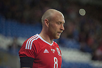 David Cotterill of Wales during the International Friendly match between Wales and Northern Ireland at Cardiff City Stadium, Cardiff, Wales on 24 March 2016. Photo by Mark  Hawkins / PRiME Media Images.