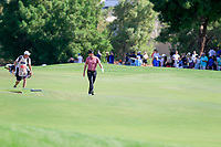 Justin Rose (ENG) on the 1st fairway during the 2nd round of the DP World Tour Championship, Jumeirah Golf Estates, Dubai, United Arab Emirates. 22/11/2019<br /> Picture: Golffile | Fran Caffrey<br /> <br /> <br /> All photo usage must carry mandatory copyright credit (© Golffile | Fran Caffrey)
